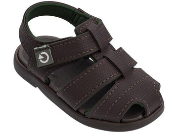 Cartago Sandals - Brown/Green