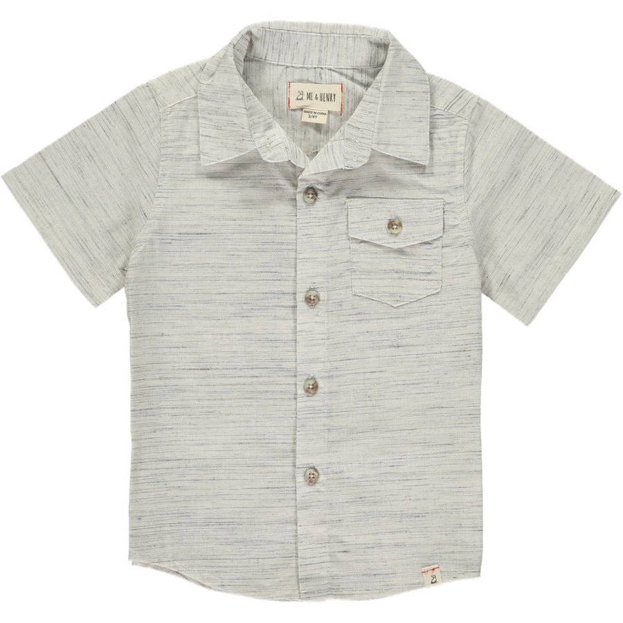 Grey/white fleck shirt