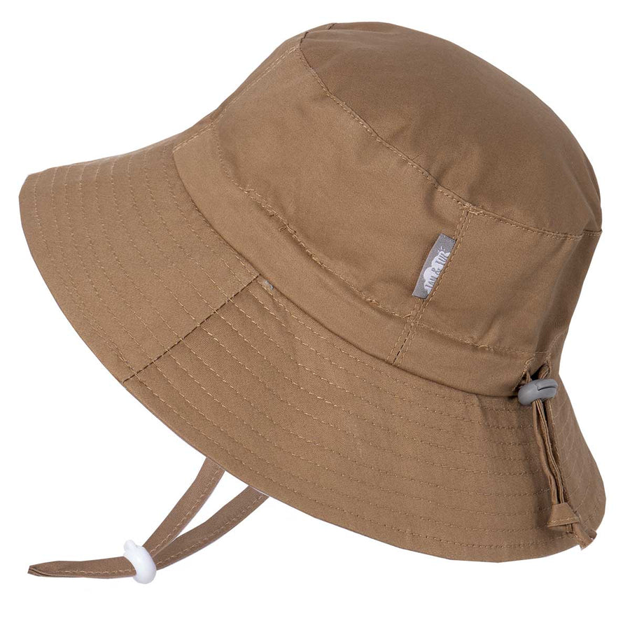 Khaki | Cotton Bucket Hat
