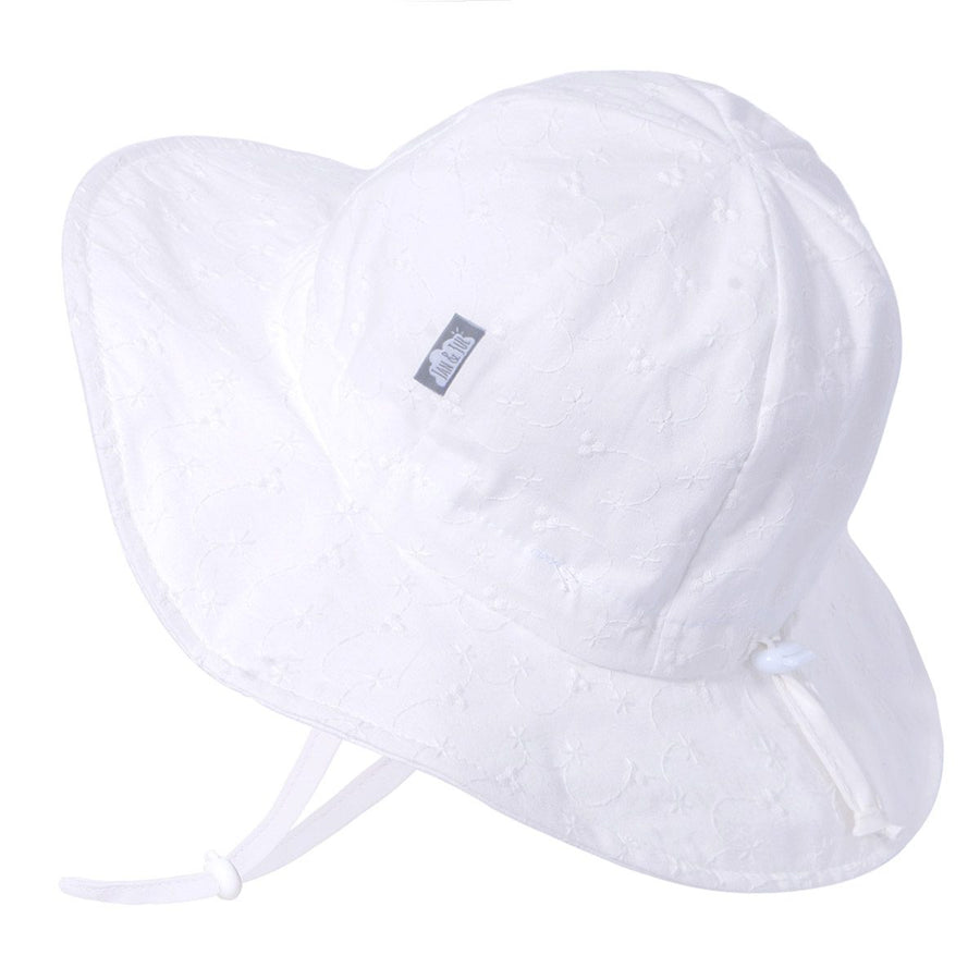 Jan /& Jul GRO-with-Me Cotton Floppy Adjustable Sun-Hat for Girls UPF 50 Breathable Cotton