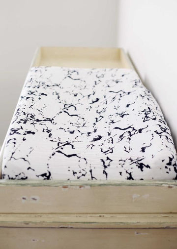 Changing Pad Cover - Marble