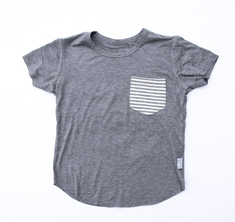 Moon and Beck Tee - Grey