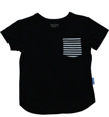 Moon and Beck Tee - Black