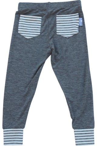 Moon and Beck Leggings - Grey