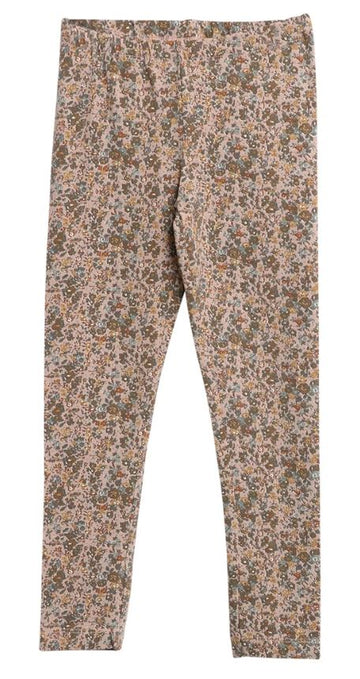 Jersey Leggings Fawn Flowers