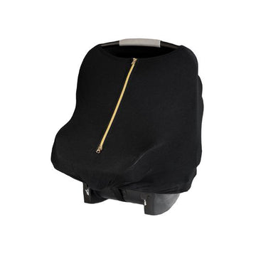Baby Leaf Multi-Use Cover - Jet Black