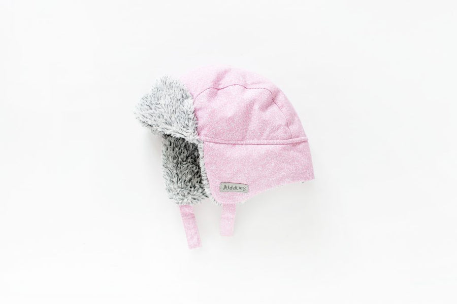 Winter Hats – Salt & Pepper Pink