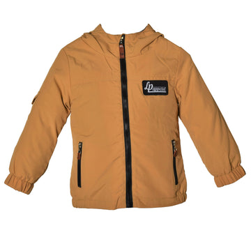 Outerwear jacket (Boys HE5) - Sand