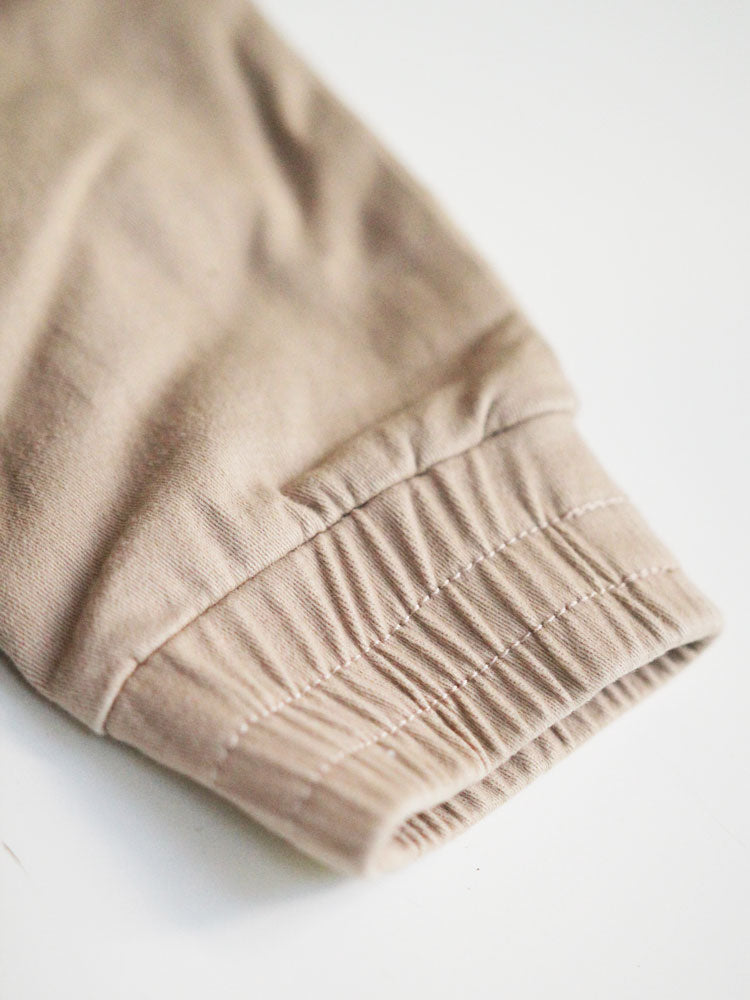 Latte Distressed Chinos