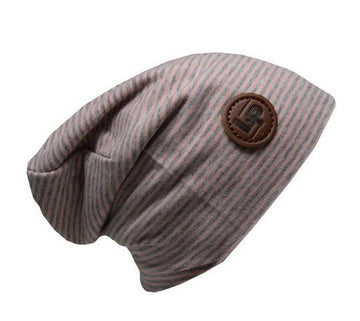 LP Apparel Beanie - Pink/Grey