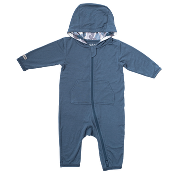 Organic Camoose Collection Jumpsuit: Blue