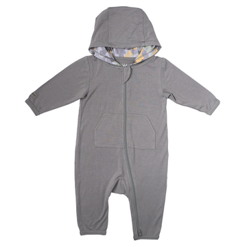 Organic Camoose Collection Jumpsuit: Grey