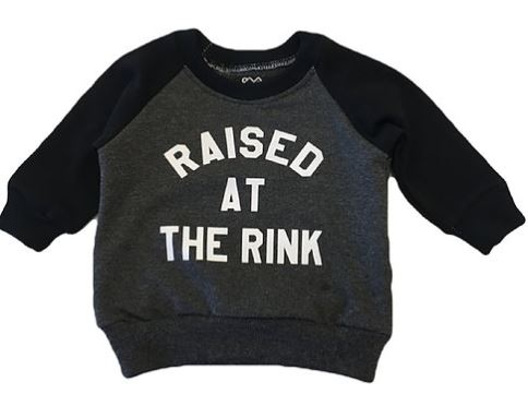 Raised At The Rink Raglan
