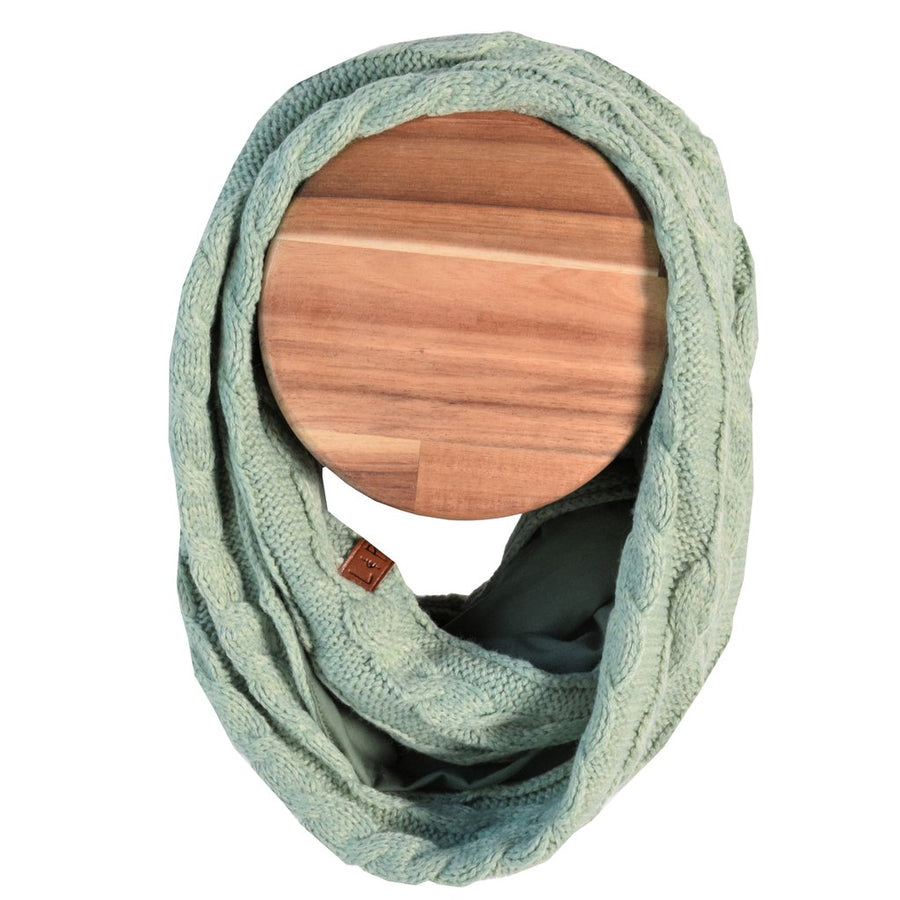Hot scarf (Alpine) - Vintage green