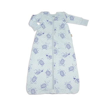 Bamboo Classic Sleeping Sack w/Detachable Sleeves (Sea Turtle Print)