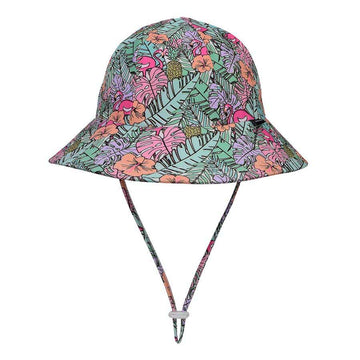 Beach Hat Bucket UPF50+ 'Tropical' Print
