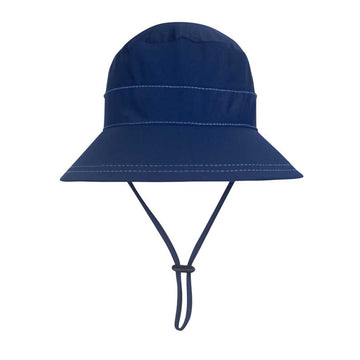 Kids UPF50+ Bucket Swim Hat - Marine