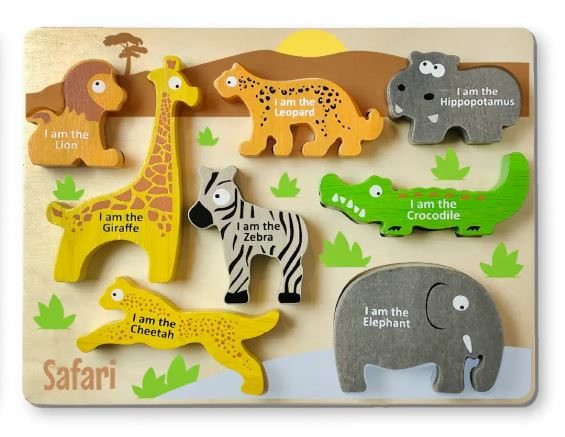 Animal Puzzle - Safari