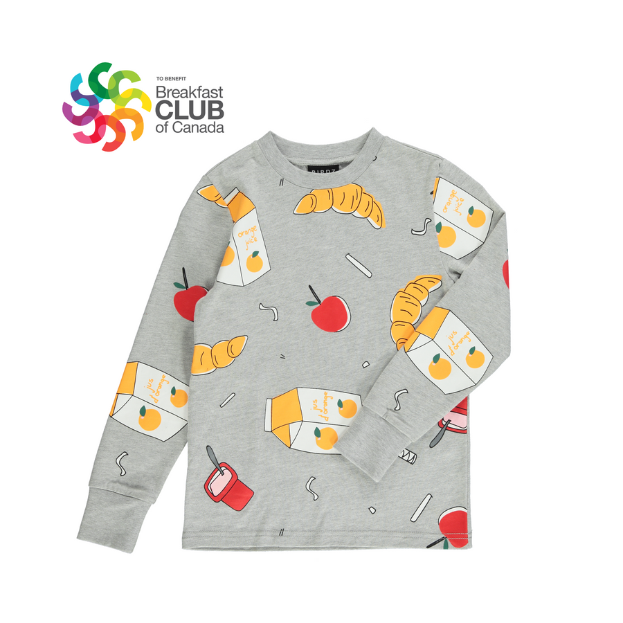BREAKFAST CLUB LONG SLEEVE TEE