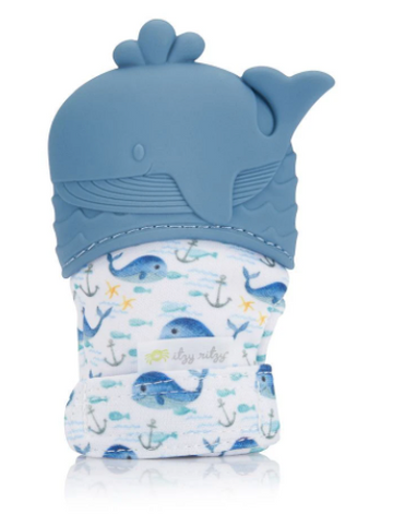 Itzy Mitt Teething Mitts | Whale
