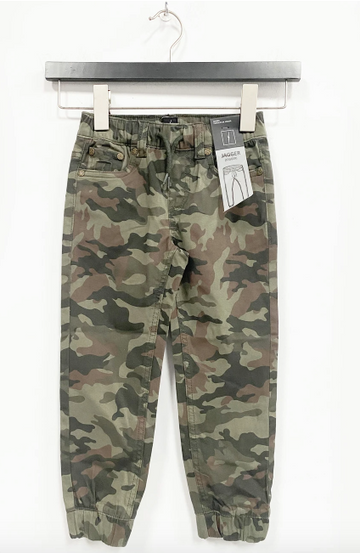 5 Pocket Brushed Twill Jogger - Camo