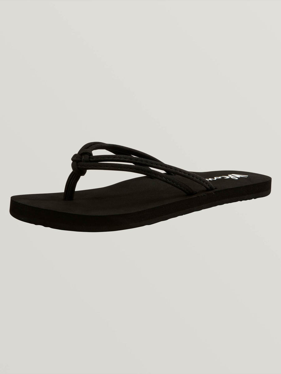 GIRLS FOREVER AND EVER SANDALS - BLACK