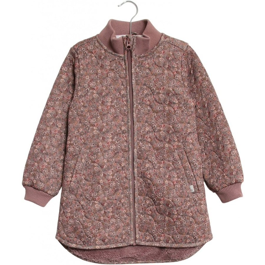 Thermo Jacket Hallie Dusty Rouge Flowers