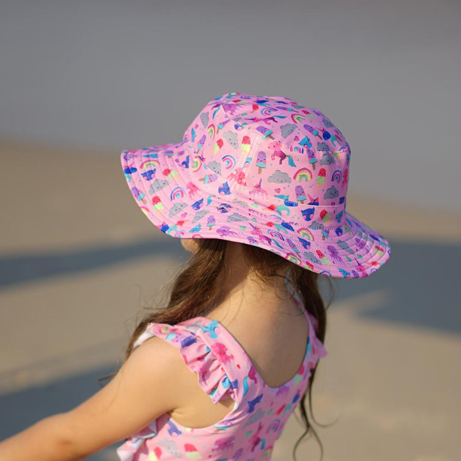 UNICORN FRIENDS SWIM HAT