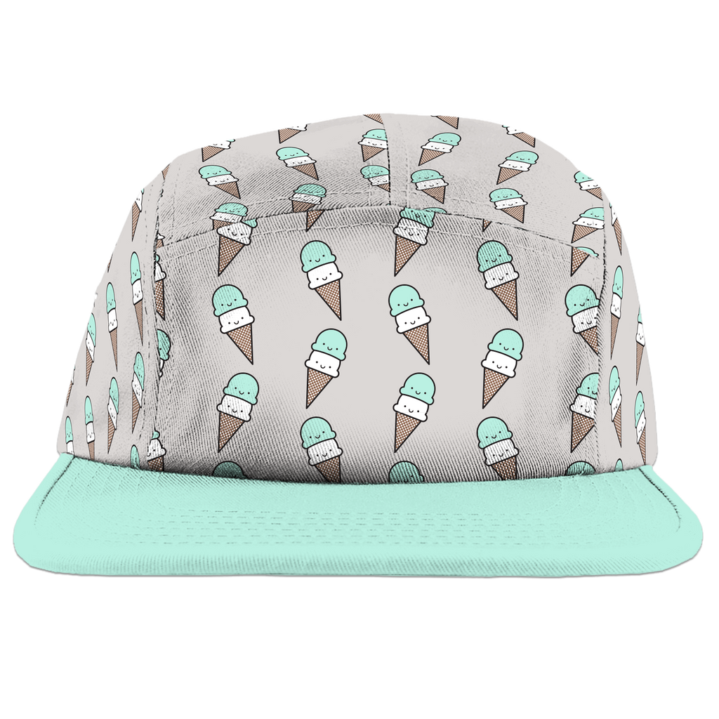 Kawaii Ice Cream Camp Cap