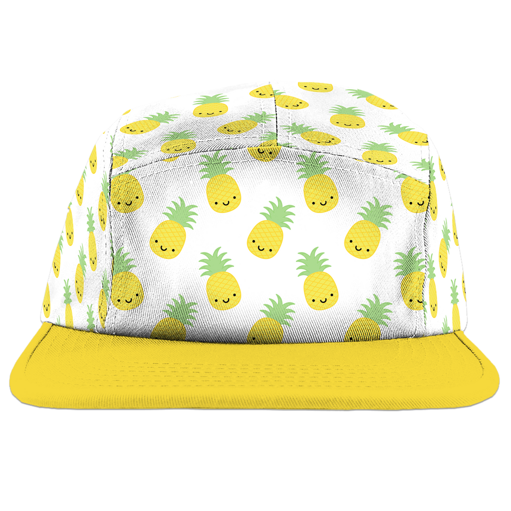 Kawaii Pineapple Camp Cap