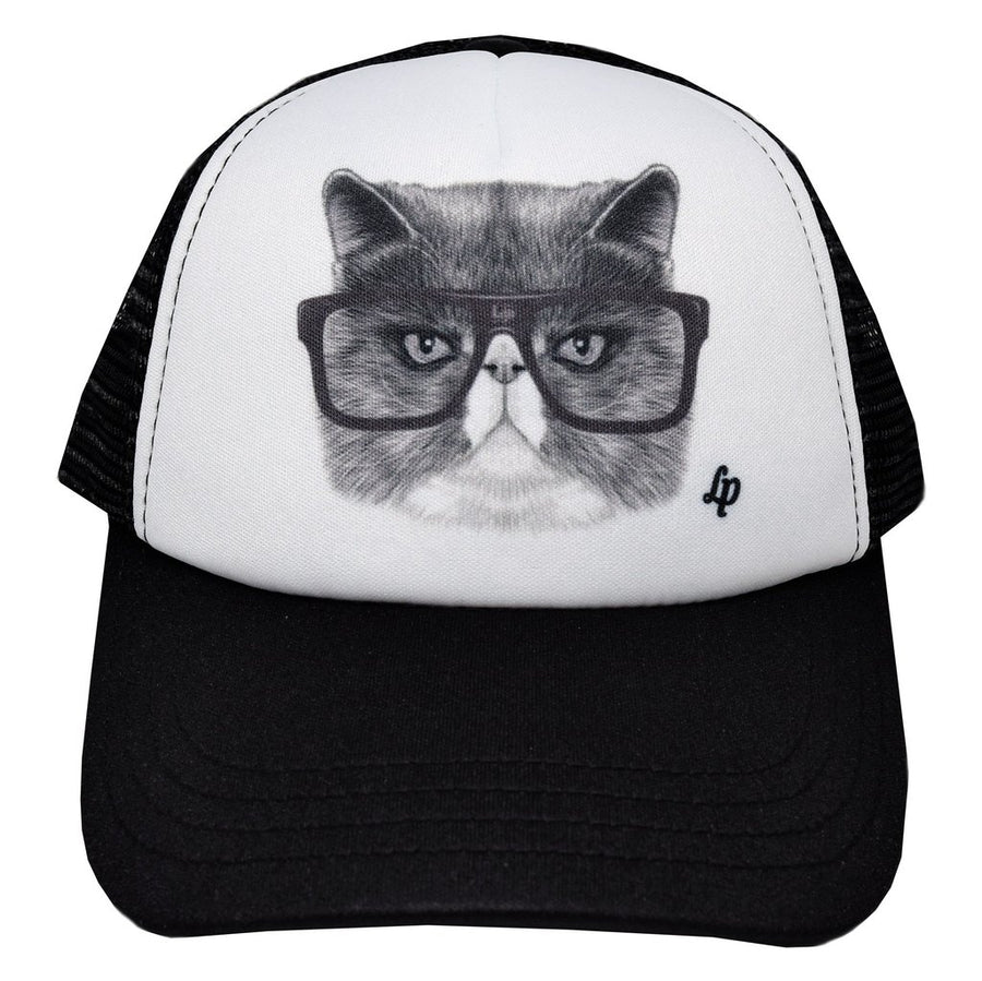 Trucker style cap (Angry Cat)