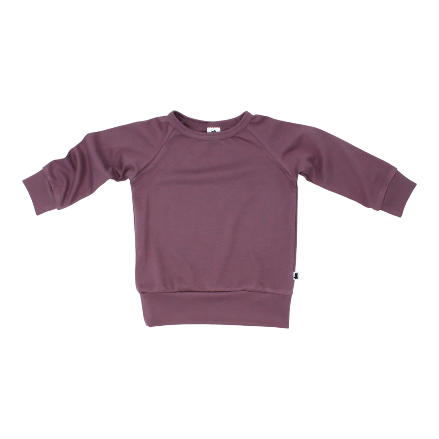 Bamboo/Cotton Pullover | Quartz
