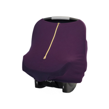 Baby Leaf Multi-Use Cover - Royal Purple