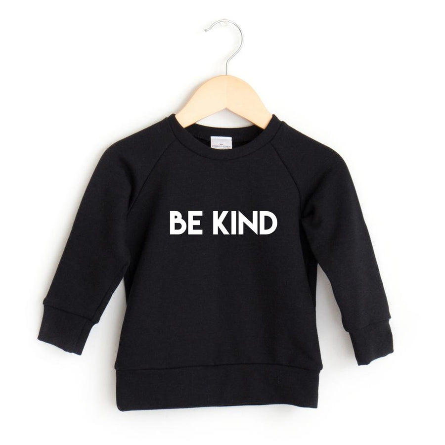 Be Kind Crewneck - Black