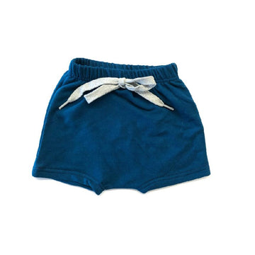 THE BRIGHT BLUE HAREM SHORTS