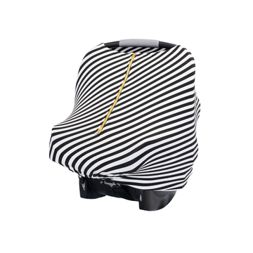 Baby Leaf Multi-Use Cover - Black & White