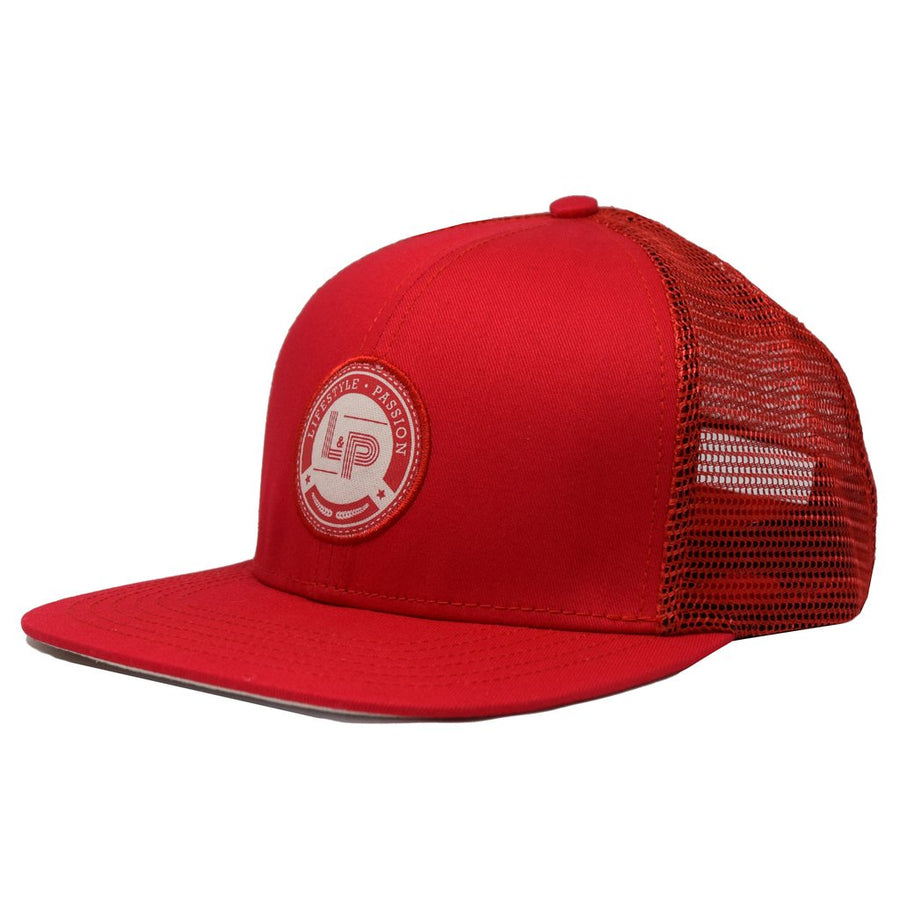 Snapback cap (Royale Red)