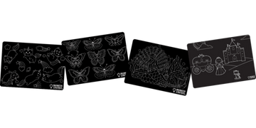 Chalkboard Whimsy Placemat Set of 4