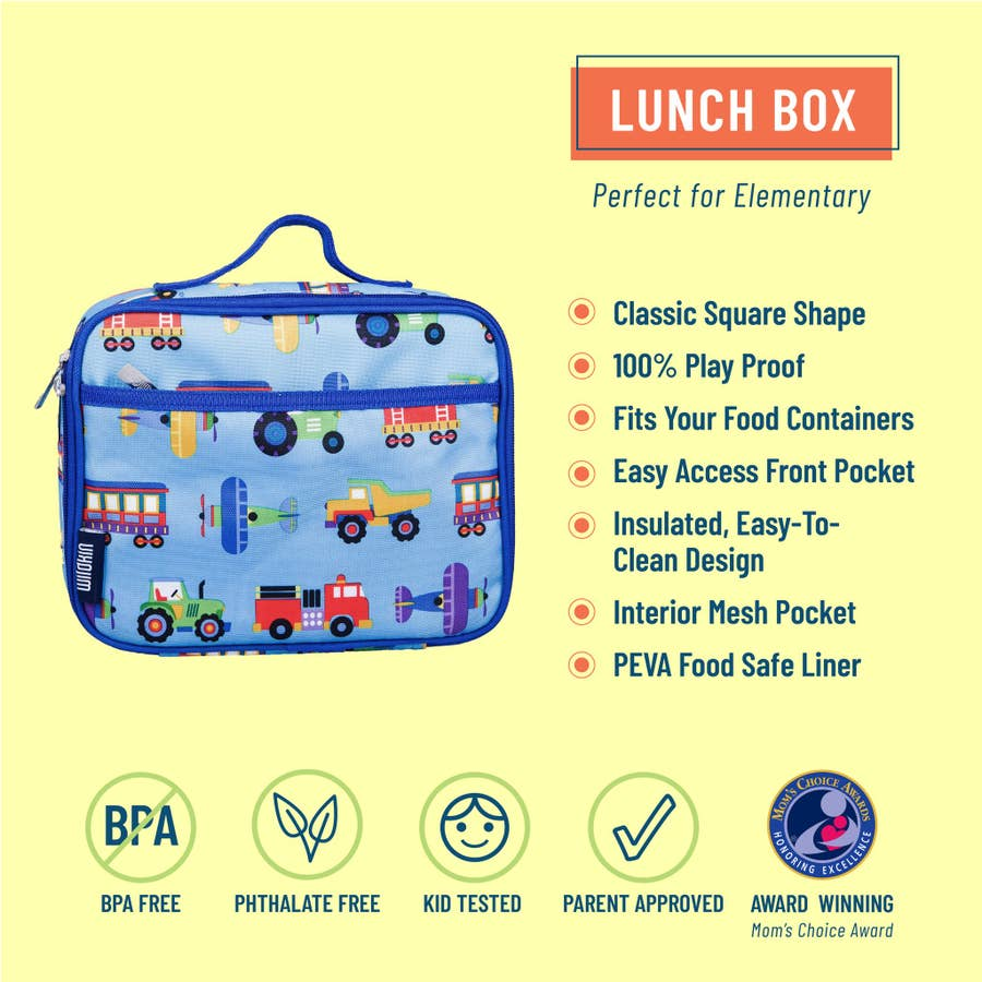 Trains Planes and Trucks Lunch Box