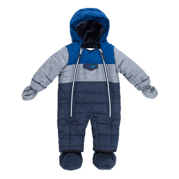Snowsuit One Piece - Nautical Blue
