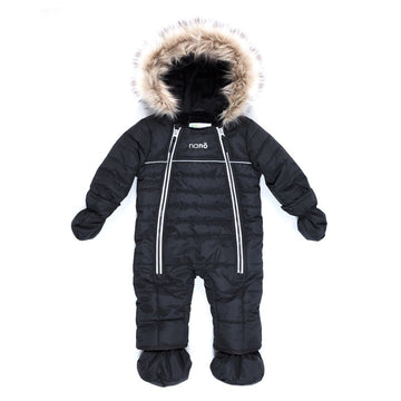 Snowsuit One Piece - Black