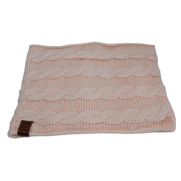 Hot scarf (Alpine) - Blush pink