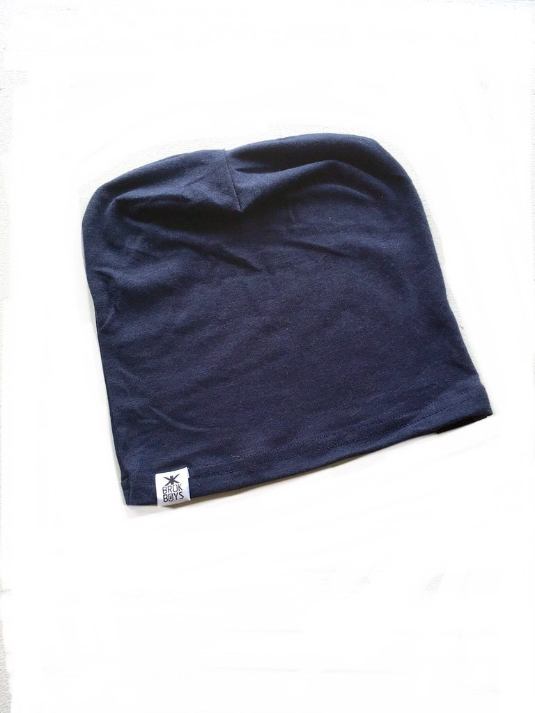 Midnight Bamboo Slouchy Hat