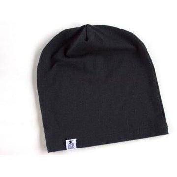 SIMPLE SLOUCHY HAT (BLACK)