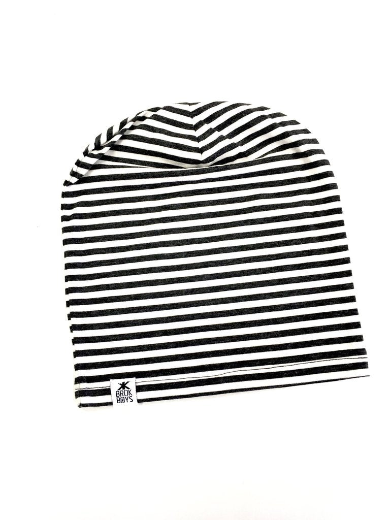 DUST STRIPE BAMBOO SLOUCHY HAT