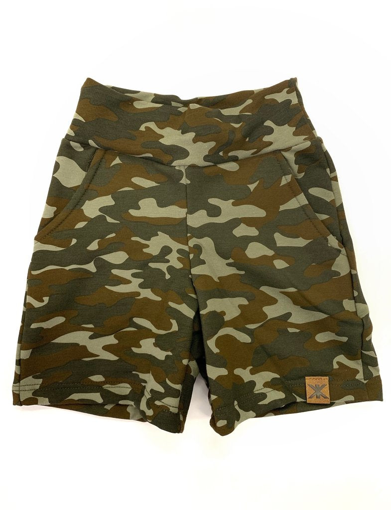 Camo Bamboo Play Shorts