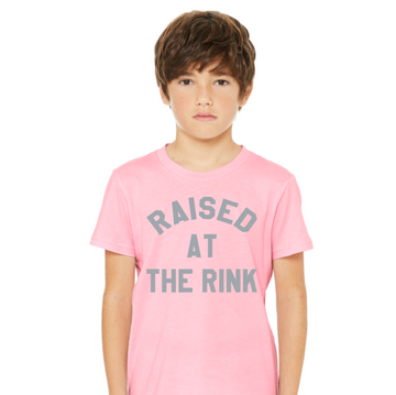 The Raised At The Rink Pink Tee