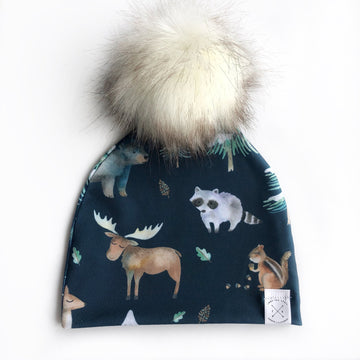 Into The Wild Pom Beanie