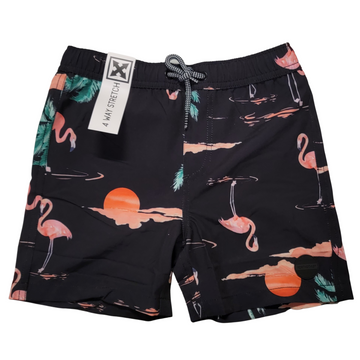 JET BLACK SWIM SHORT