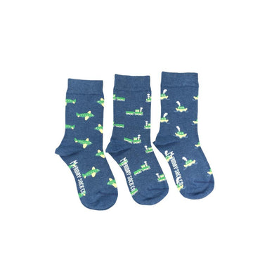 Plane Train Boat Kids (Organic) Socks